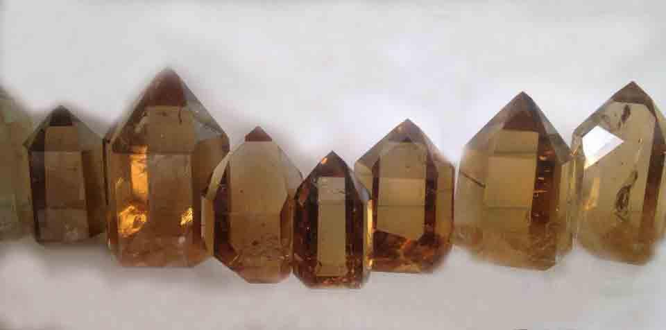 Crystals smoky quartz