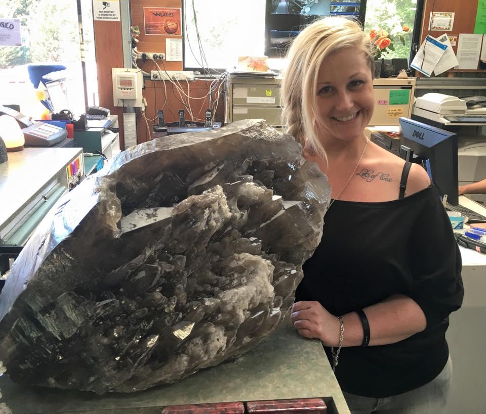 Crystal mined in Australia